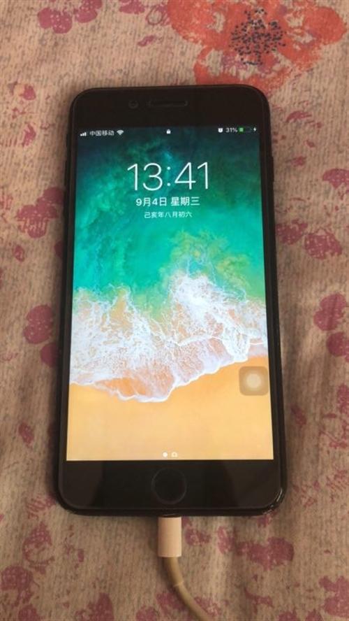 7p 32g 七五新。便宜卖了。屏幕完好无损。电池寿命还有99%。无暗病。
