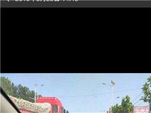 238省道现在变成了漯河市的红色风景线