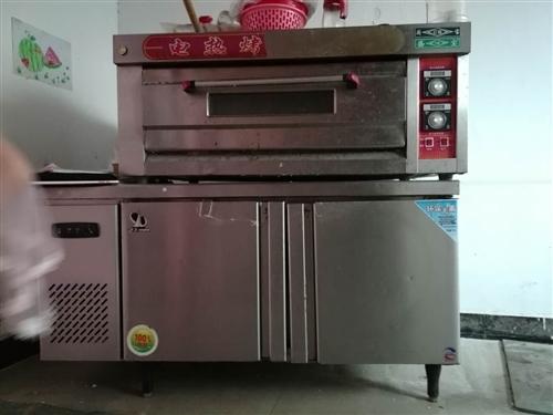 一臺電烤箱,一臺冷藏操作臺!八成新!有需要的可以私信聯系我。18238283169