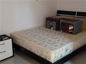 床,电视柜,沙发,外加两个小桌子一起1000元,地址在西鸿禧嘉园,有需要联系