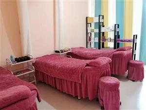 �D�九五成新美容床,小推�,�架等美容用品,有意者���聊