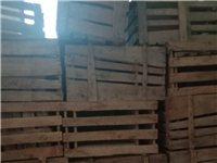 出售二手木梨梨箱有二三百个,要的联系18755781200