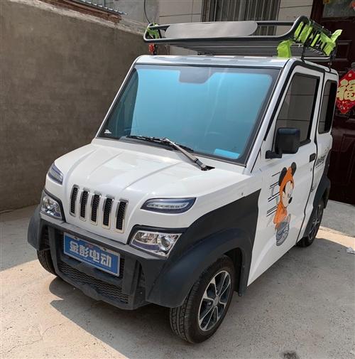95新电动四轮车型号:金彭X5,闲置在家便宜处理。电动车窗,暖风,彩色显示屏,防晒膜,行李架,无纺布...