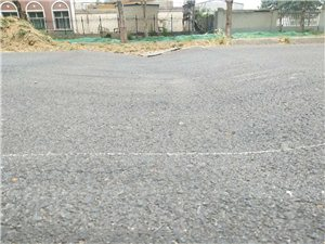 街道路面下沉