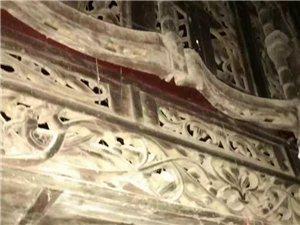 民国时期的雕花床