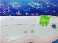 因店面升级,特价处理婴儿泳缸。8成新,一米八宽,两米三长