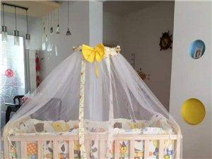 9成新婴儿床便宜转让