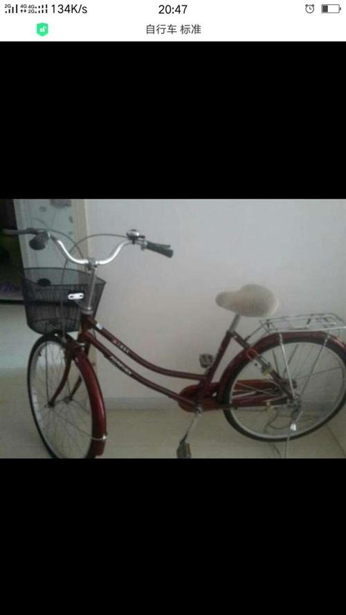 求購二手普通自行車,大人能騎的,帶后座的。