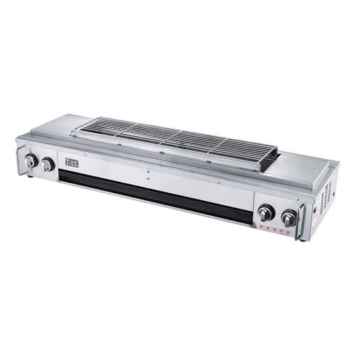 转让2米长的烧烤炉,八成新原价2600元。