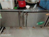 工作台冷冻冰箱,有需要低价处理,用了两