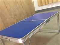 低价出售2桌折叠桌子