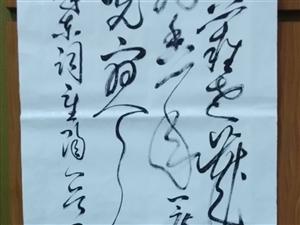 今天是重阳节特发幅书帖,愿天下老人健康快乐。