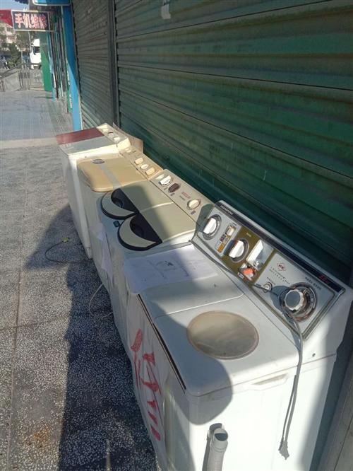 二手洗衣机数台,都是修好的价格面议