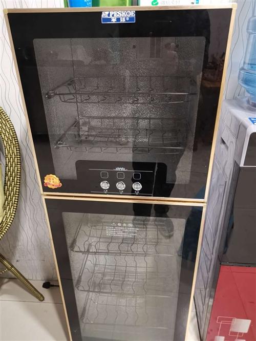 半球牌消毒柜1个,今年8月刚买,因不再做餐饮。