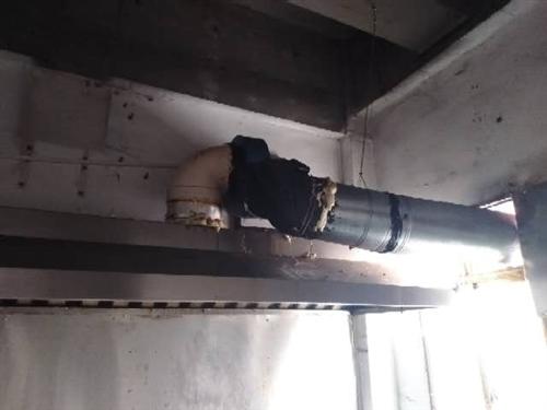 饭店专用油烟机离心机一套,全不锈钢,2.2米长,价格面议,15329882803