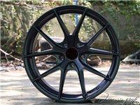 18寸國產鍛造輪轂。八成新有一個需要修復。5×114的 。帶胎出。可小刀