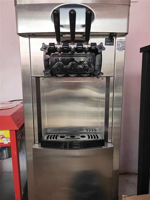 商用冰淇淋機器,九成新,只用了兩月
