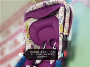 宝宝安全提篮,适合0-1岁宝宝,我家用了没几次,九成新,安装简单,100元不议价