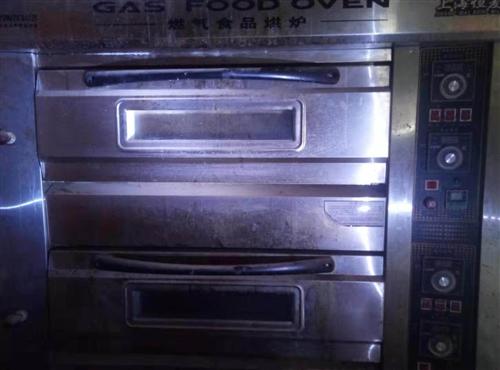 转让一套双层烤箱,压面机,发酵箱,和面机