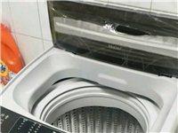出售海尔全自动洗衣机,买了有半年多,用了没几次,九九新,价格实惠,有意的联系,自提!!!可小议!