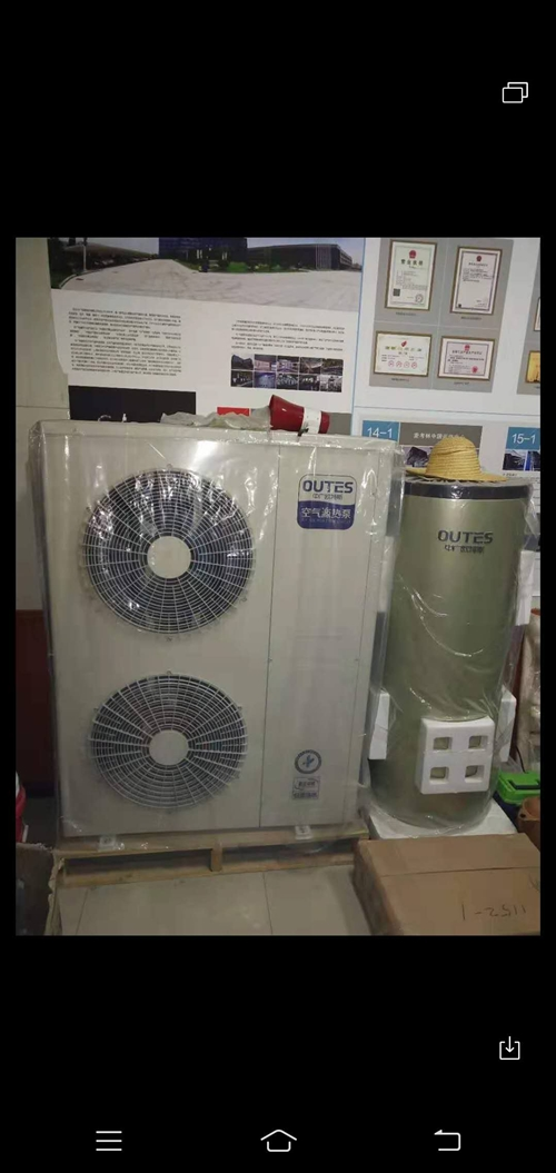 你好,我有兩臺空氣源熱泵,一臺六匹,一臺八匹,六匹一萬六,八匹兩萬,如果有想要的聯系,聯系電話181...