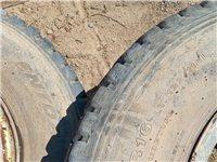 低价出售六个750---16的九成新轮胎!