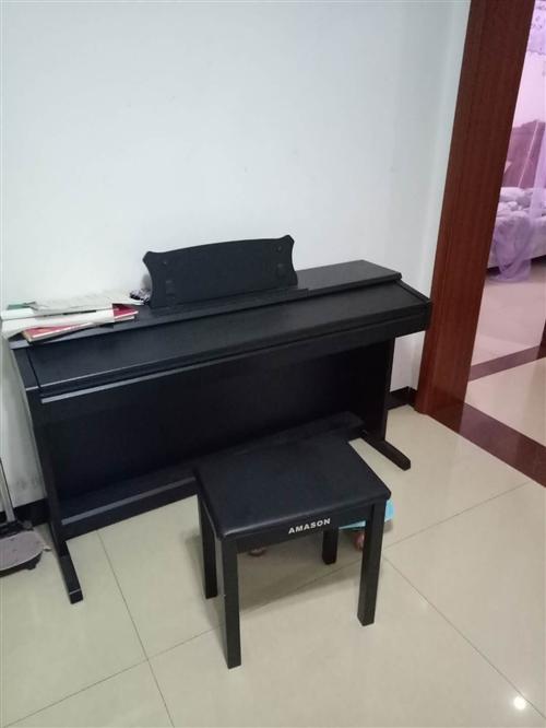 電鋼琴,9成新。孩子不想學了,