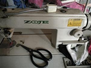 中捷缝纫机用不到了出售,有需要的打电话