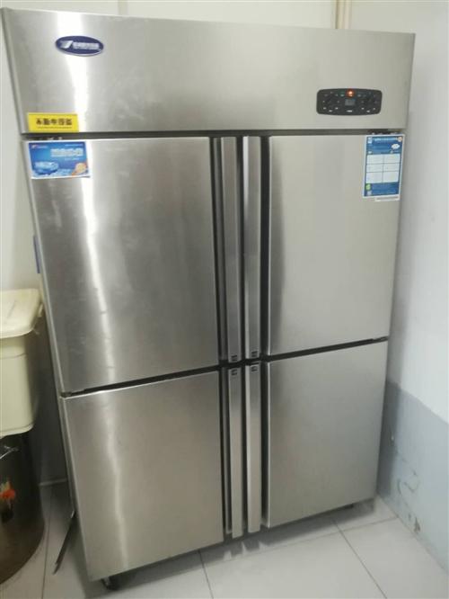 用了一个月的银都四开门冰箱,不干了,转让,纯新的