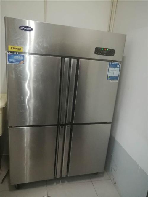 杭州银都四开门冰箱,几乎**,用了一个月,便宜出售