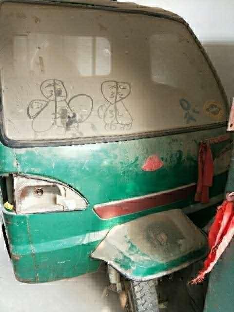 機動三輪車個人家用過秋過麥來一趟廢鐵價格處理了。