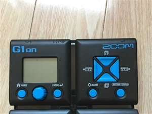 ZOOM G1ON �吉他�C合效果器 �I了不到一年自用,基本�]用�^,99新�o��痕,�木W上下�d了全套�f...