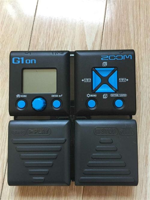 ZOOM G1ON 電吉他綜合效果器 買了不到一年自用,基本沒用過,99新無劃痕,從網上下載了全套說...