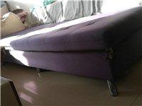 兩個兩米長布藝沙發