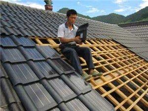 房屋頂隔熱與建造車庫