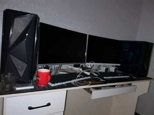 本人因工作原因不用了 8月底买的工作室电脑  2套出售看截图配置  需要的直接打电话  办公绝对没问...