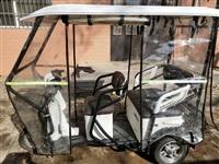 本人出售一辆捷马电动三轮车,八成新,18年9月份购买,基本上没怎么使用,有意者电联