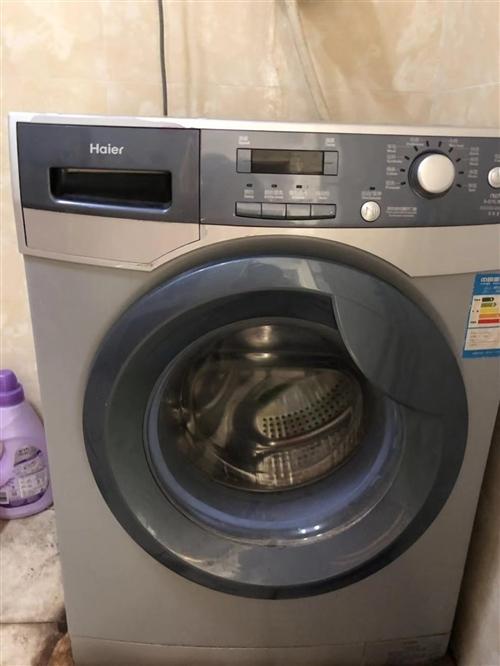 出售本人自用滾筒洗衣機,除外觀不太好看,用著沒有任何毛病,超級便宜,電話詢價