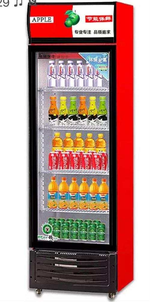 请购两台立式二手冰柜