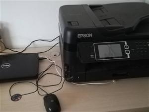 �D��燮丈�多功能打印�C加戴���P�本��X,打印�C8成新,有意者�系我15053472005