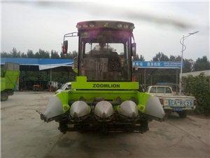 谷王玉米收割機