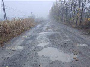求修路!溢洪堤到新村这条路坑坑洼洼,直接没法走