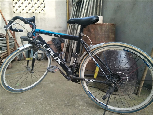 闲置自行车出售。
