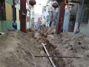 寺塔梁挖溝埋下水導致房子下陷沒人管