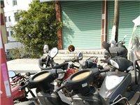 出售大量二手摩托车,电动车,看货谈价钱。