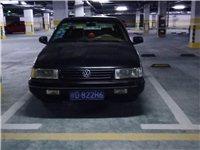 此车为桑塔纳2000型,行程约20万公里,黑色。