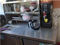 双控温水吧操作台,收银台,面包展示柜,和面机。价格私聊