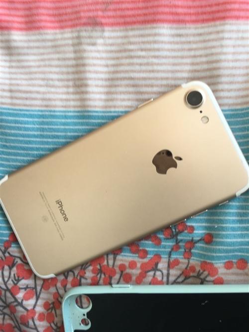 苹果7 128g 玫瑰金 自用 无磕碰无拆修 原装防水