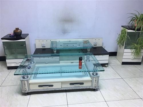 二手鞋柜,茶几,电视柜,单人沙发还???油烟机低价出售