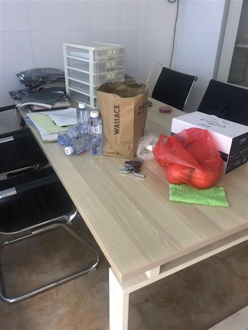 办公会议桌,1000买的,保养好,处理400,自提,基本**